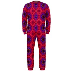Retro Abstract Boho Unique Onepiece Jumpsuit (men)