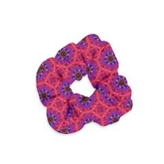 Retro Abstract Boho Unique Velvet Scrunchie