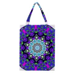Graphic Isolated Mandela Colorful Classic Tote Bag by Nexatart