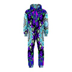 Graphic Isolated Mandela Colorful Hooded Jumpsuit (kids)