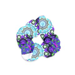 Graphic Isolated Mandela Colorful Velvet Scrunchie