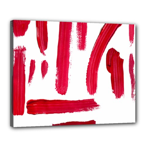 Paint Paint Smear Splotch Texture Canvas 20  X 16