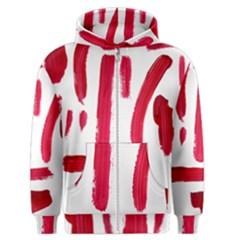 Paint Paint Smear Splotch Texture Men s Zipper Hoodie
