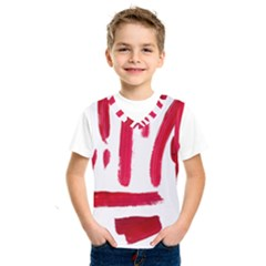 Paint Paint Smear Splotch Texture Kids  Sportswear