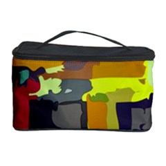 Abstract Vibrant Colour Cosmetic Storage Case