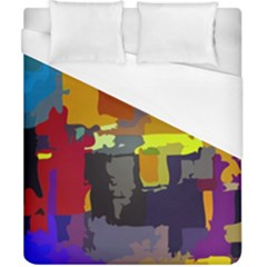 Abstract Vibrant Colour Duvet Cover (california King Size)