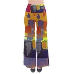 Abstract Vibrant Colour Pants by Nexatart