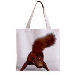 Squirrel Wild Animal Animal World Zipper Grocery Tote Bag by Nexatart