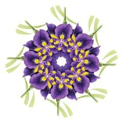 Lily Flower Plant Blossom Bloom Hook Handle Umbrellas (medium) by Nexatart