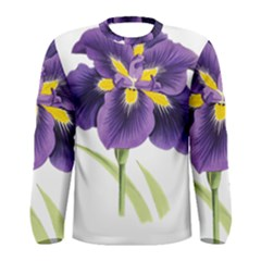 Lily Flower Plant Blossom Bloom Men s Long Sleeve Tee