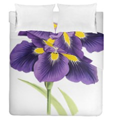 Lily Flower Plant Blossom Bloom Duvet Cover Double Side (queen Size)