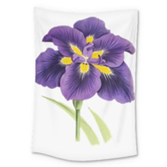 Lily Flower Plant Blossom Bloom Large Tapestry