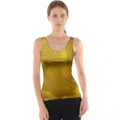 Beer Beverage Glass Yellow Cup Tank Top