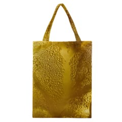 Beer Beverage Glass Yellow Cup Classic Tote Bag