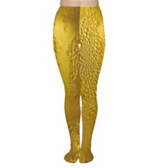 Beer Beverage Glass Yellow Cup Women s Tights