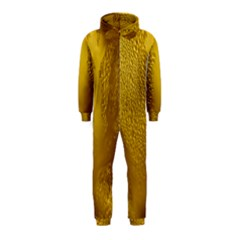 Beer Beverage Glass Yellow Cup Hooded Jumpsuit (kids) by Nexatart
