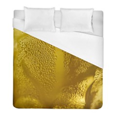 Beer Beverage Glass Yellow Cup Duvet Cover (full/ Double Size)