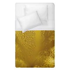 Beer Beverage Glass Yellow Cup Duvet Cover (single Size) by Nexatart