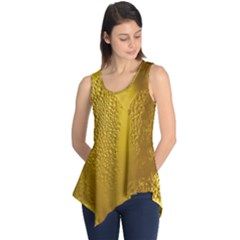 Beer Beverage Glass Yellow Cup Sleeveless Tunic