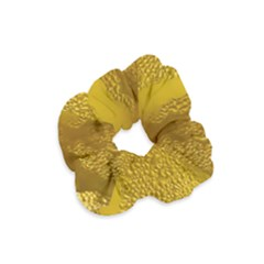 Beer Beverage Glass Yellow Cup Velvet Scrunchie