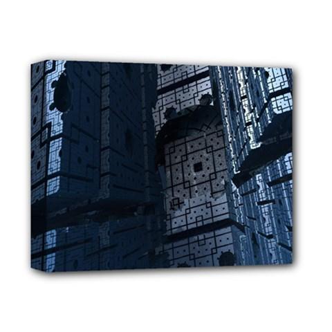 Graphic Design Background Deluxe Canvas 14  X 11  by Nexatart