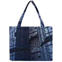 Graphic Design Background Mini Tote Bag by Nexatart