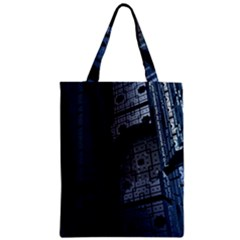 Graphic Design Background Zipper Classic Tote Bag