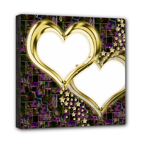 Lover Romantic Couple Apart Mini Canvas 8  X 8  by Nexatart