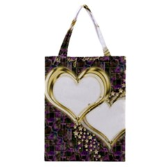 Lover Romantic Couple Apart Classic Tote Bag by Nexatart