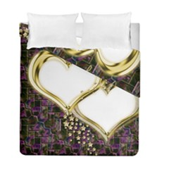 Lover Romantic Couple Apart Duvet Cover Double Side (full/ Double Size)