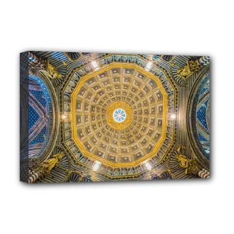 Arches Architecture Cathedral Deluxe Canvas 18  X 12   by Nexatart