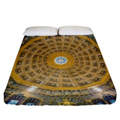 Arches Architecture Cathedral Fitted Sheet (california King Size) by Nexatart
