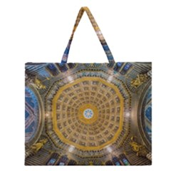 Arches Architecture Cathedral Zipper Large Tote Bag by Nexatart
