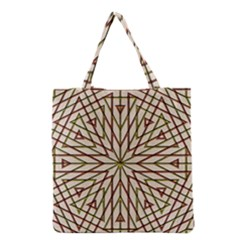 Kaleidoscope Online Triangle Grocery Tote Bag by Nexatart