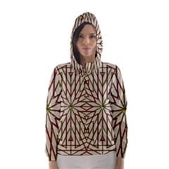 Kaleidoscope Online Triangle Hooded Wind Breaker (women)