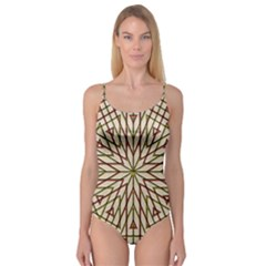 Kaleidoscope Online Triangle Camisole Leotard