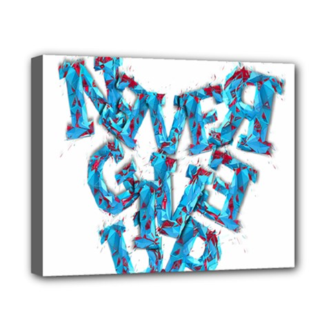 Sport Crossfit Fitness Gym Never Give Up Canvas 10  X 8