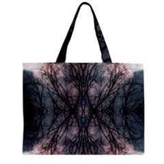 Storm Nature Clouds Landscape Tree Zipper Mini Tote Bag by Nexatart