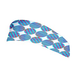 Geometric Dots Pattern Rainbow Stretchable Headband