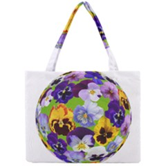 Spring Pansy Blossom Bloom Plant Mini Tote Bag