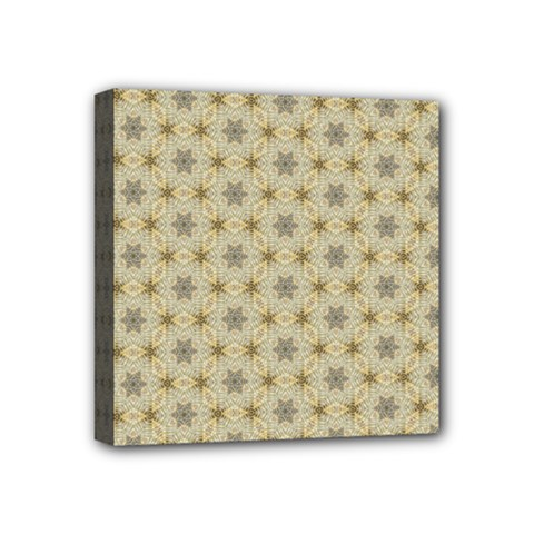 Star Basket Pattern Basket Pattern Mini Canvas 4  X 4  by Nexatart