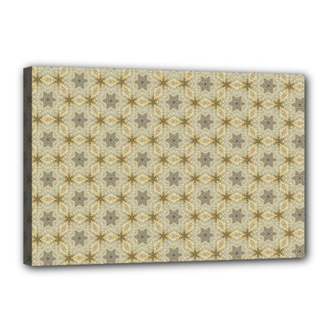 Star Basket Pattern Basket Pattern Canvas 18  X 12  by Nexatart