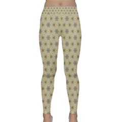 Star Basket Pattern Basket Pattern Classic Yoga Leggings