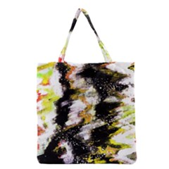 Canvas Acrylic Digital Design Grocery Tote Bag by Nexatart