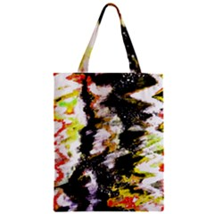 Canvas Acrylic Digital Design Classic Tote Bag
