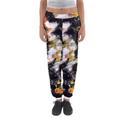 Canvas Acrylic Digital Design Women s Jogger Sweatpants