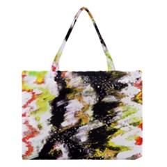 Canvas Acrylic Digital Design Medium Tote Bag