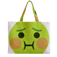 Barf Medium Tote Bag by BestEmojis