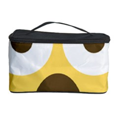 Scream Emoji Cosmetic Storage Case by BestEmojis
