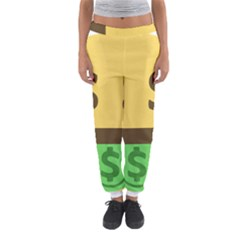 Money Face Emoji Women s Jogger Sweatpants by BestEmojis